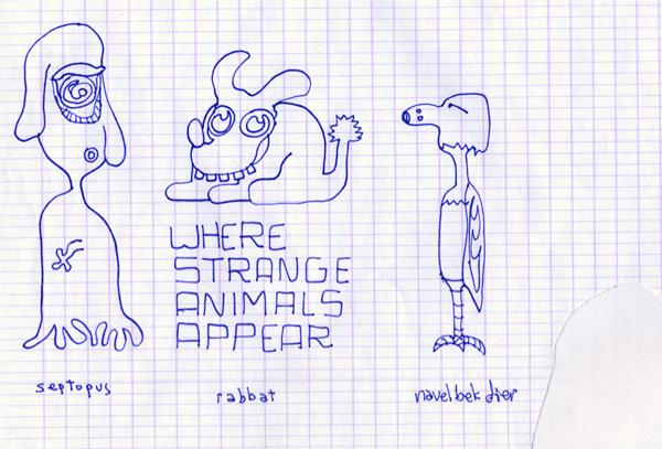 wherestrangeanimalsappear-septopus
